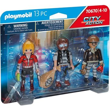Picture of Playmobil - Thief Figure Set
