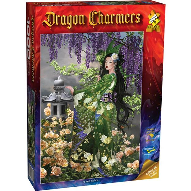 Picture of Holdson Puzzle - Dragon Charmers, 1000pc (Queen of Jade)