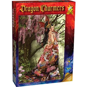 Picture of Holdson Puzzle - Dragon Charmers, 1000pc (Queen of Silk)