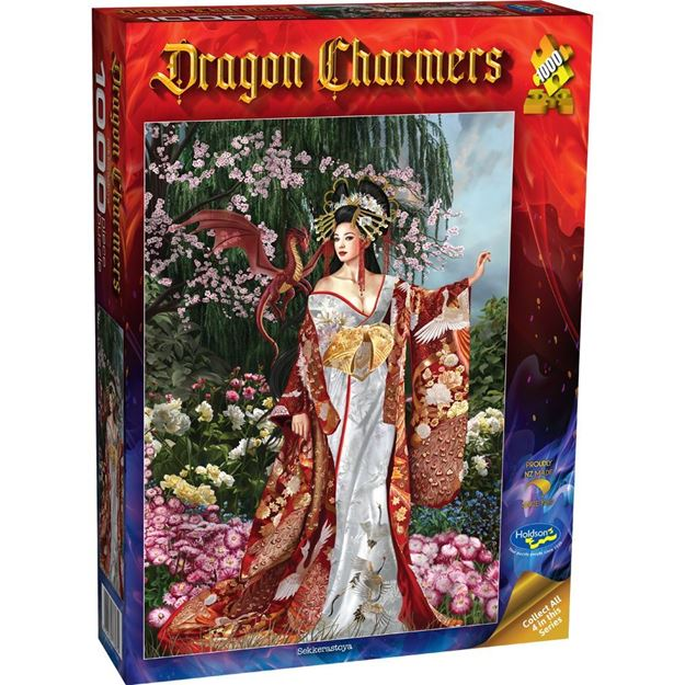 Picture of Holdson Puzzle - Dragon Charmers, 1000pc (Sekkerastoya)