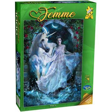Picture of Holdson Bargain Puzzle - Femme, 1000pc (Portal 2)