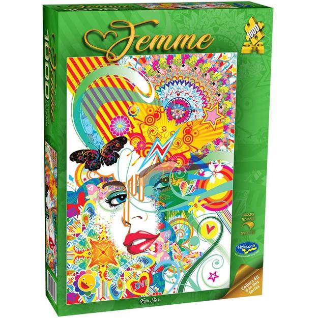 Picture of Holdson Bargain Puzzle - Femme, 1000pc (Erin Star)