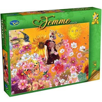 Picture of Holdson Bargain Puzzle - Femme, 1000pc (Skater Girl)