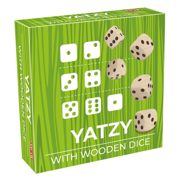 Picture of Trendy Yatzy with Wooden Dice