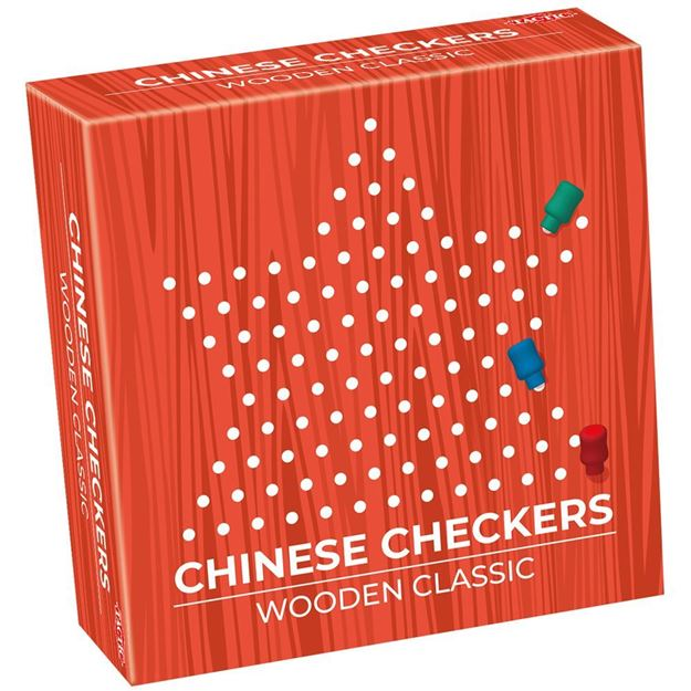 Picture of Wooden Classic Chinese Checkers (Travel Size)