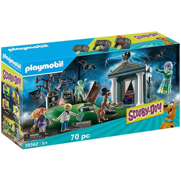 Picture of Playmobil - Scooby-Doo - Adventure in the Cemetery