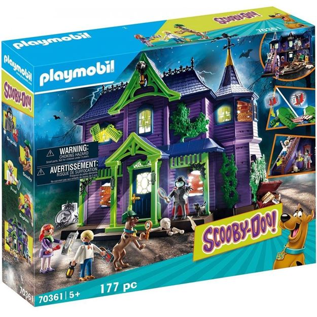 Picture of Playmobil - Scooby-Doo - Adventure in the Mystery Mansion