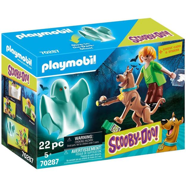 Picture of Playmobil - Scooby-Doo - Scooby & Shaggy with Ghost