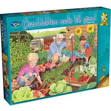 Picture of Holdson Puzzle - Grandchildren Make Life Grand 1000pc (Harvest Time)