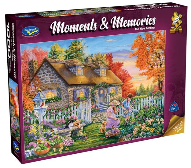 Picture of Holdson Puzzle - Moments & Memories  (The New Gardner)