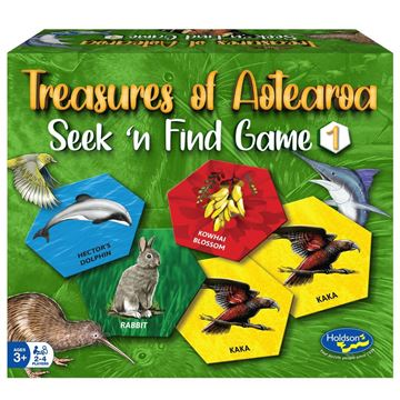 Picture of Game - Treasures of Aotearoa Seek & Find #1