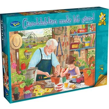 Picture of Holdson Puzzle - Grandchildren Make Life Grand 1000pc (Sowing Seeds)